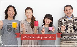 虫歯予防の写真
